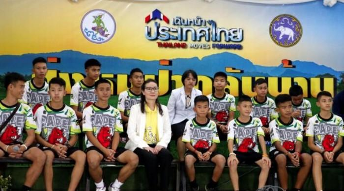 'It was magical': Thai boys relive their discovery in cave ordeal