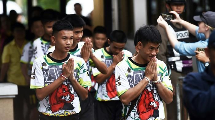 'It was a miracle': Thai cave boys describe two-week ordeal