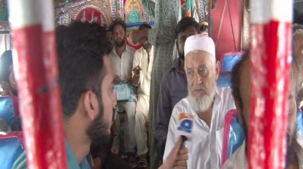 Karachi voters share their concerns on the go