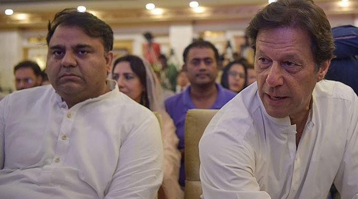 Imran displeased with Fawad Chaudhry over poor PTI show in Jhelum: sources