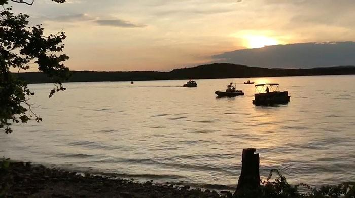 Eleven dead as boat capsizes and sinks in Missouri lake