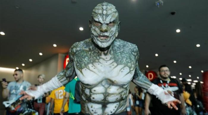 Bodysuits, boots and masks galore as Comic-Con opens in San Diego