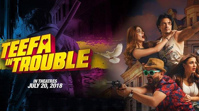 Ali Zafar, Maya Ali dazzle as 'Teefa in Trouble' hits cinema screens