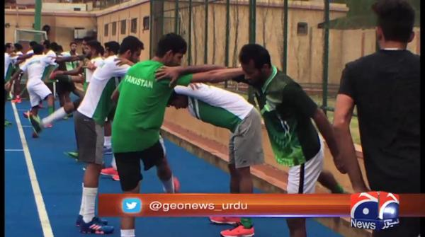 Training ground in tatters for Pakistan hockey team ahead of Asian Games