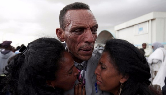 After 18 years apart, Ethiopian man finds his family in Eritrea
