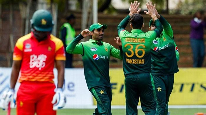 Pakistan win toss, elect to bat against Zimbabwe