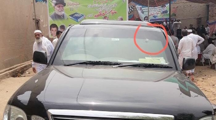JUI-F leader Akram Durrani safe as shots fired at vehicle in Bannu