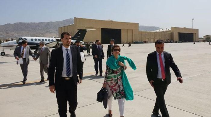 Foreign secretary Janjua in Kabul for talks with Afghanistan
