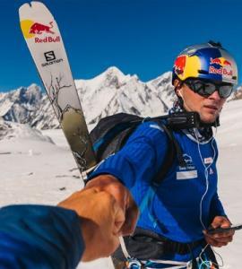 Polish daredevil skies down K2 mountain in world first