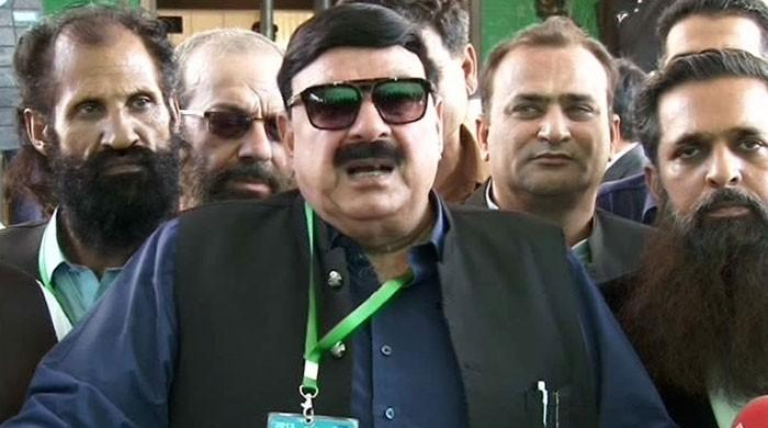 Sheikh Rasheed challenges postponement of NA-60 election