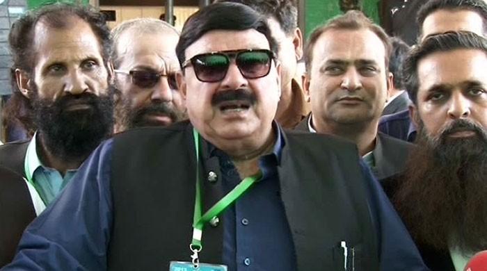 Sheikh Rasheed challenges postponement of NA-60 election