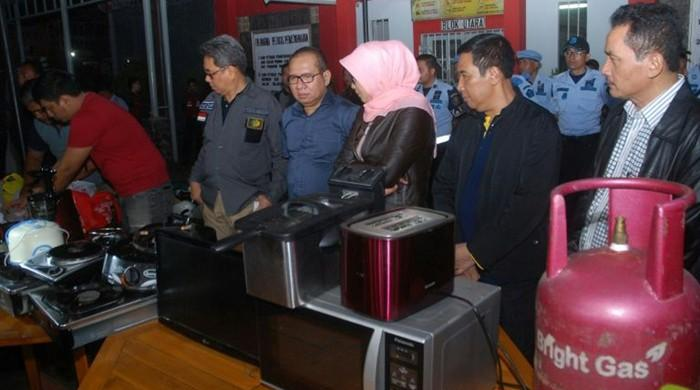 Indonesian jailers busted over fancy cells