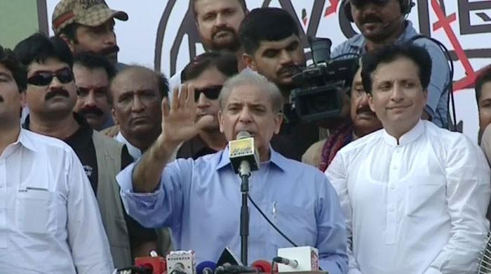 PML-N winning despite all 'injustices', says Shehbaz