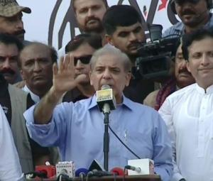 PML-N winning despite all 'injustices', says Shehbaz