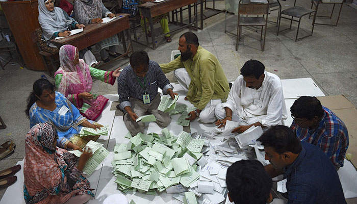 Election results pour in as polling concludes | Pakistan - Geo tv