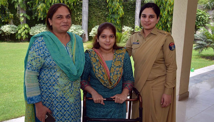 Army provides job to physically-challenged voter in Lahore