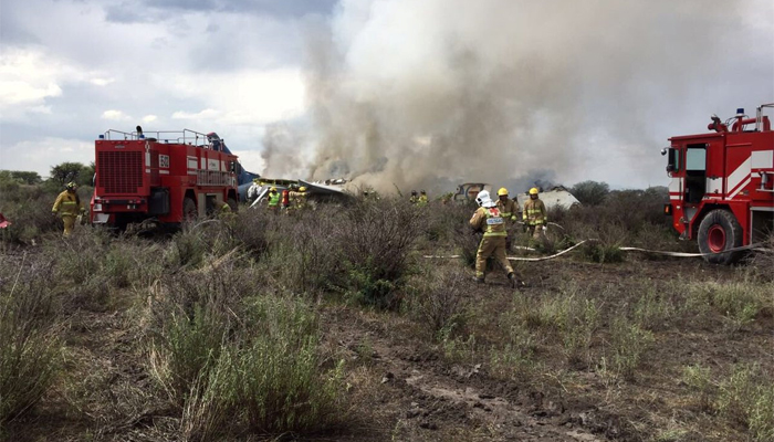 Mexican airliner involved in crash in northern Mexican state