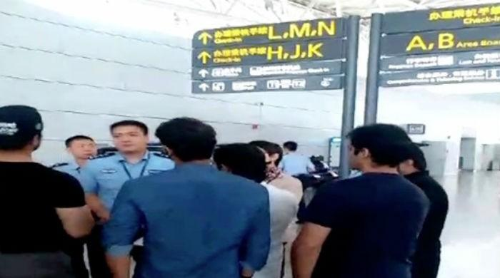 Over 300 Pakistanis stranded in China after airline cancels flight