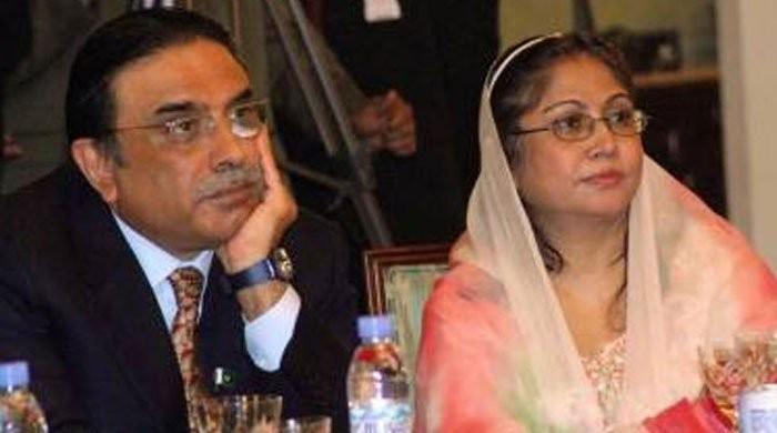 Money laundering case: FIA to approach SC over Zardari, Talpur's non-appearance