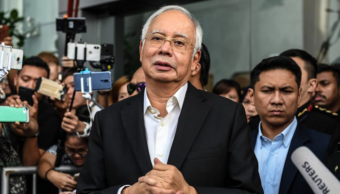 Najib pleads not guilty to new money laundering charges