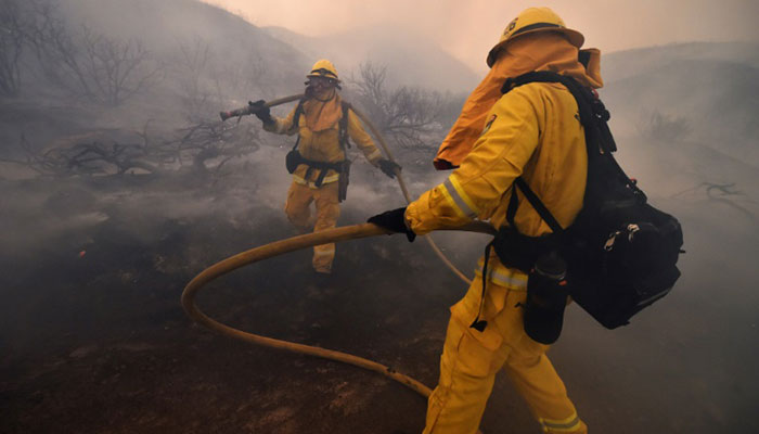 Maryland firefighters head west to battle wildfires