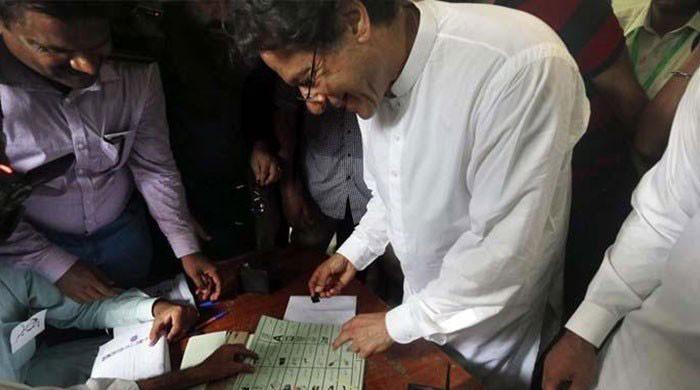 ECP accepts Imran's apology in ballot secrecy case