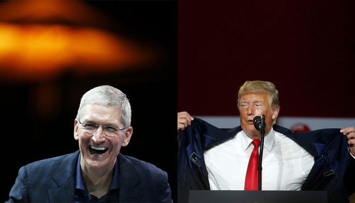 Trump to have dinner with Apple CEO Cook
