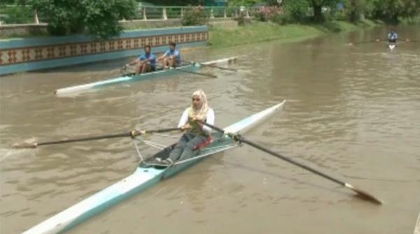 Boat rowing competition in Lahore on Aug 14