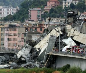 Italy interior minister says around 30 dead in bridge collapse
