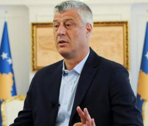 Kosovo president says wants to 'correct' border with Serbia