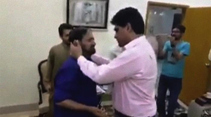 Manhandled Karachi motorist forgives MPA but unsure 'why Imran Ali Shah beat me'