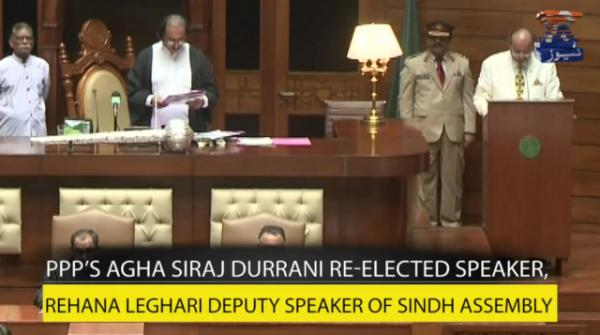 Speakers, deputy speakers of KP and Sindh assemblies take oath