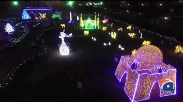 China Lantern Festival in Karachi Pakistan
