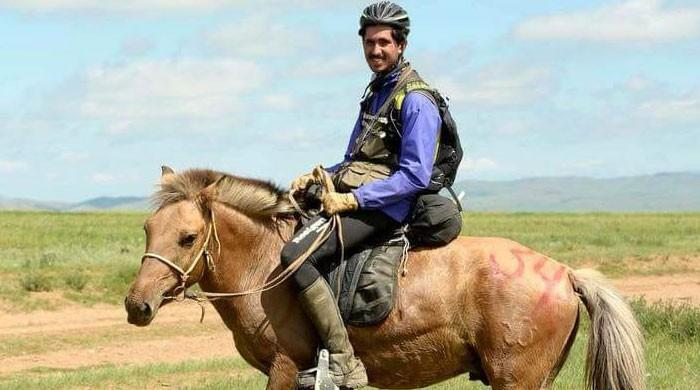 Mongol Derby: Young Pakistani completes toughest horse race in the world