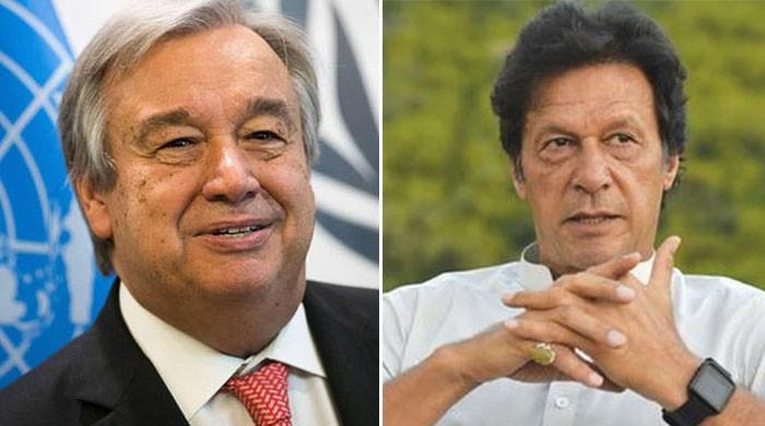 UN Secretary-General congratulates PM Imran on assumption of office