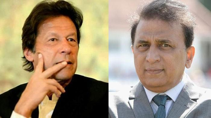 Sunil Gavaskar recalls when Imran Khan challenged him to continue playing
