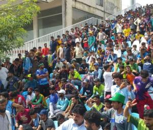 Over 10,000 players appeared in Qalandars' open trial in Rawalpindi
