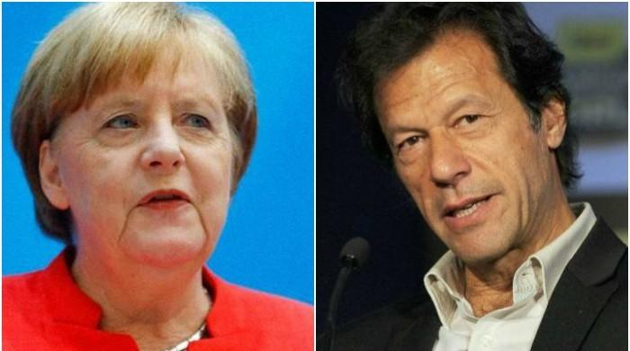 Merkel felicitates PM Imran, reaffirms German support for war on terror
