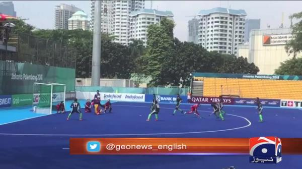 Pakistan thrash Thailand 10-0 in Asian Games hockey opener