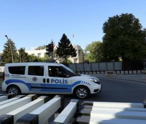Turkey detains two men over shooting at US embassy in Ankara