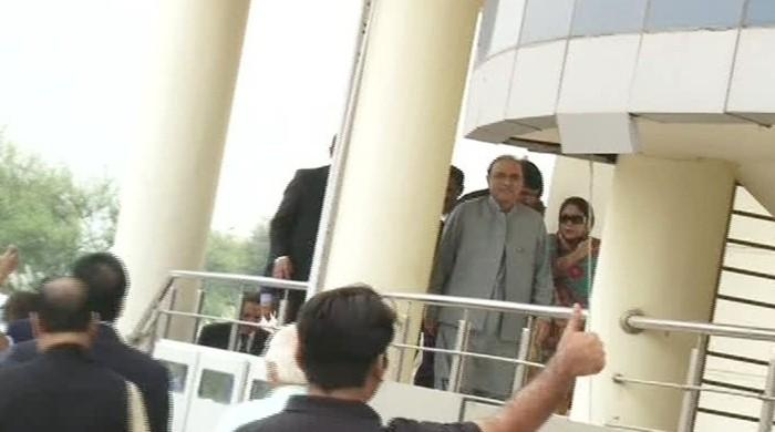 Zardari, Talpur record statements before FIA in money laundering case