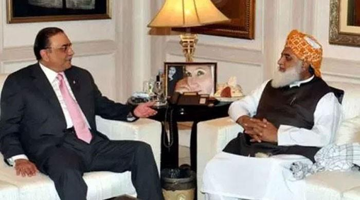 Fazl meets Zardari for opposition's consensus presidential candidate