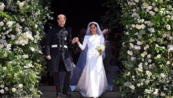 UK royal Meghans wedding dress to go on display