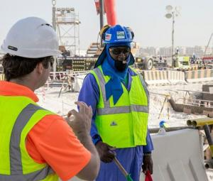 Qatar World Cup workers given 'cooling vests' to combat heat