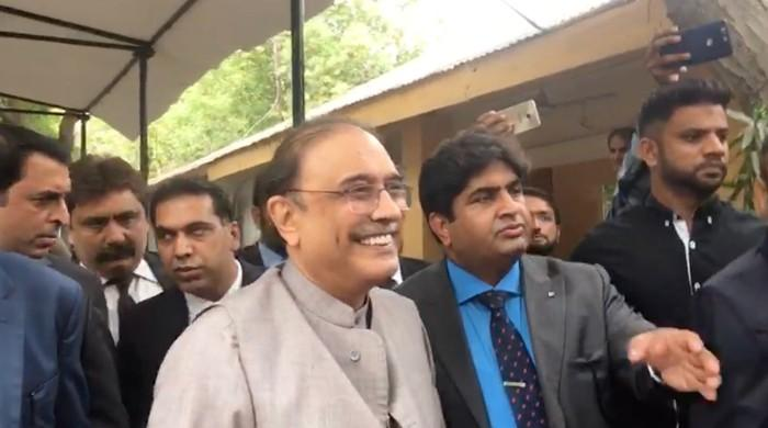 What can we say in a country where chief justice conducts raids: Zardari