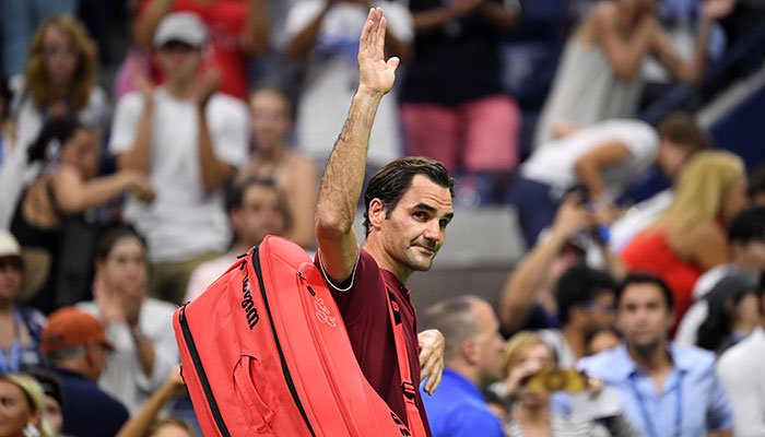 Federer loses to Millman, crashes out of US Open