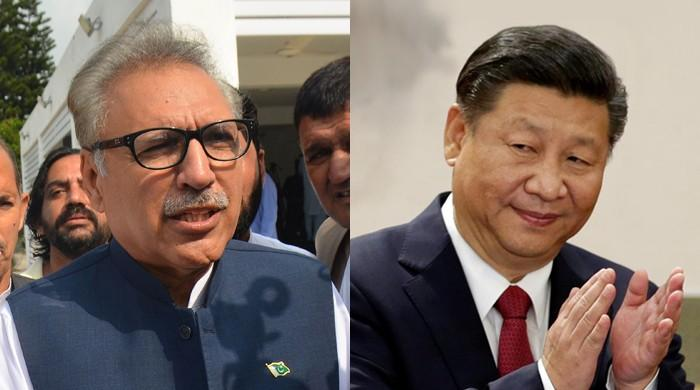 China's Xi congratulates Pakistani counterpart Dr Alvi on assuming office