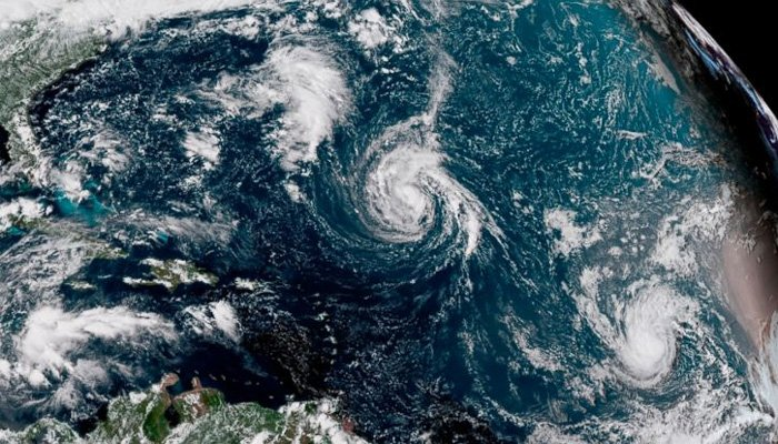 Florence becomes a hurricane, barrels toward US East Coast