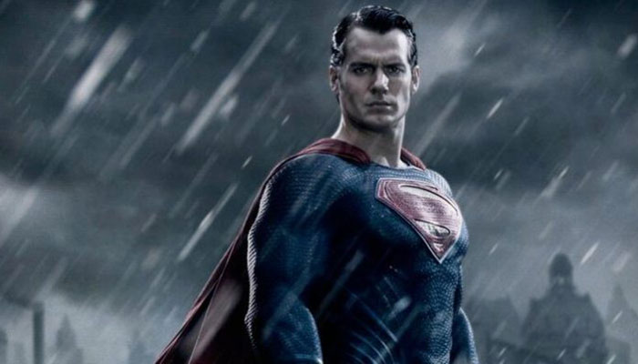 Henry Cavill as Superman in 2017's Justice League