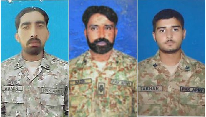 Image result for Four terrorists killed, three soldiers martyred during N Waziristan IBO: ISPR \
